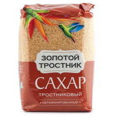 """Сахар тросниковый """"Золотой тростник"""" 900г"""