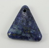 Подвеска Ляпис Лазурит (прессов., тониров) (цвет - темно-синий) 33,3х26,5х7 мм №29