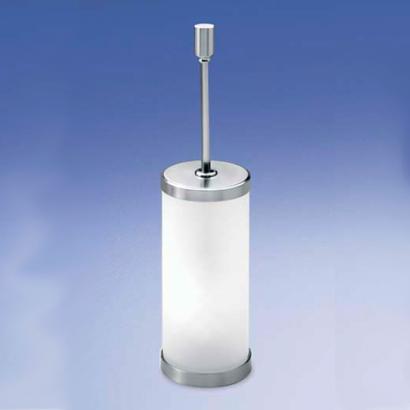 Ершик напольный с крышкой 89118MSNI Plain Crystal от Windisch