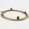 Сеттинг - основа - подвеска для камеи или кабошона 40х30 мм (оксид латуни) ()