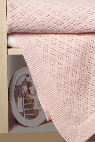 Элитный плед детский Imperio 81 розовый от Luxberry