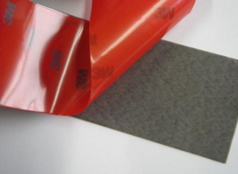 Скотч 3М TAPE 12мм х 5м красная подложка