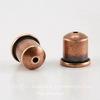 "Концевик для шнура 6 мм TierraCast ""Купол"" (цвет-античная медь) 9х9 мм"