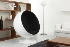 кресло шар ball chair черное