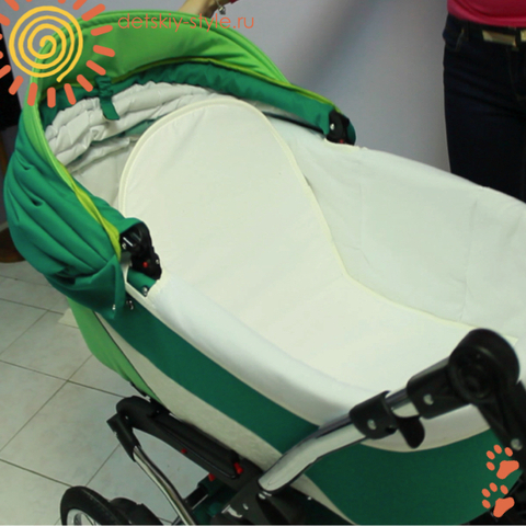 "Коляска Stroller B&E ""Maxima Brilliance"" 2в1"