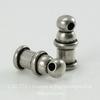 "Концевик для шнура 2 мм TierraCast ""Pagoda"" (цвет-античное серебро) 10х4 мм"