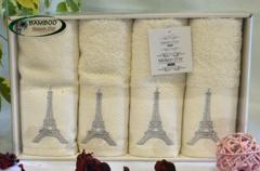 Набор полотенец PARIS - ПАРИС в размере 30*50  / Maison Dor (Турция)