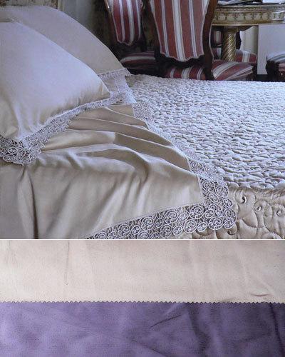 Постельное белье 2 спальное евро Cassera Casa Alice Macrame
