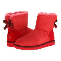UGG Bailey Bow 78 Red