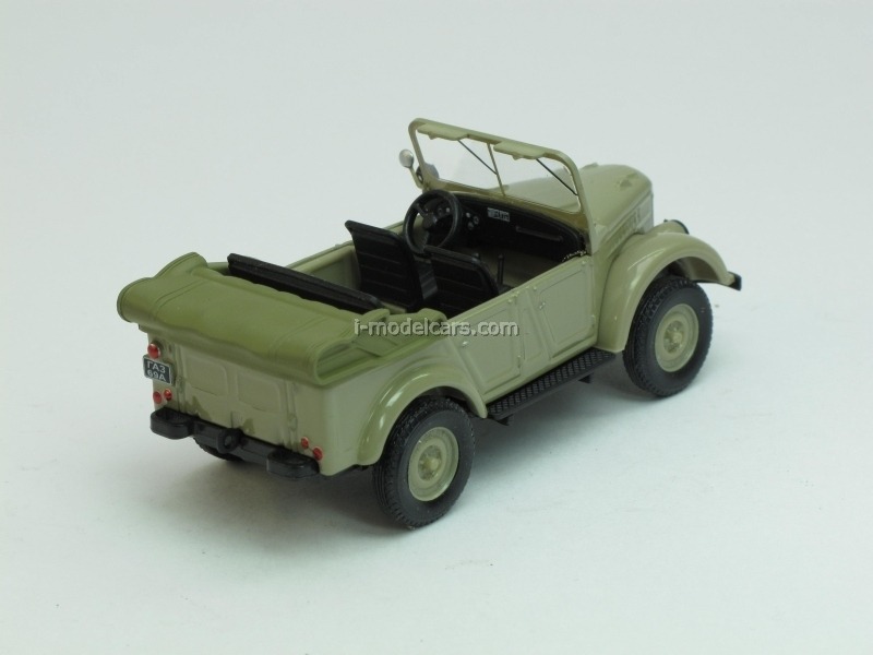 GAZ-69A open olive 1:43 Nash Avtoprom