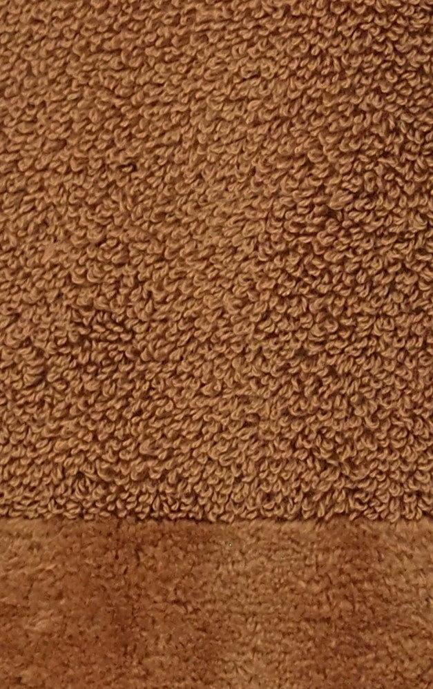 Элитный коврик для ванной Fyber коричневый от Carrara