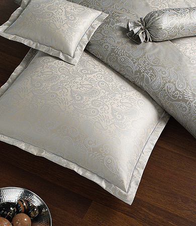 Элитная наволочка Palais серебро от Elegante