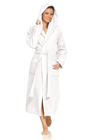 Элитный халат махровый Nature Organic натуральный белый от Vossen