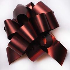 Бант 32 мм 6810/38 шоколад