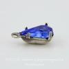 Сеттинг - основа - подвеска Капля для страза 8х5 мм (оксид серебра) ()