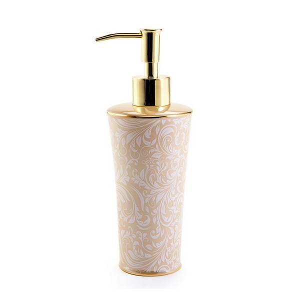 Дозаторы для мыла Дозатор для жидкого мыла Kassatex Bedminster Scroll Creme Brulee dozator-dlya-zhidkogo-myla-bedminster-scroll-creme-brulee-ot-kassatex-ssha-kitay.jpg