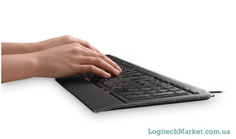 LOGITECH Illuminated K740 USB Black [92613]