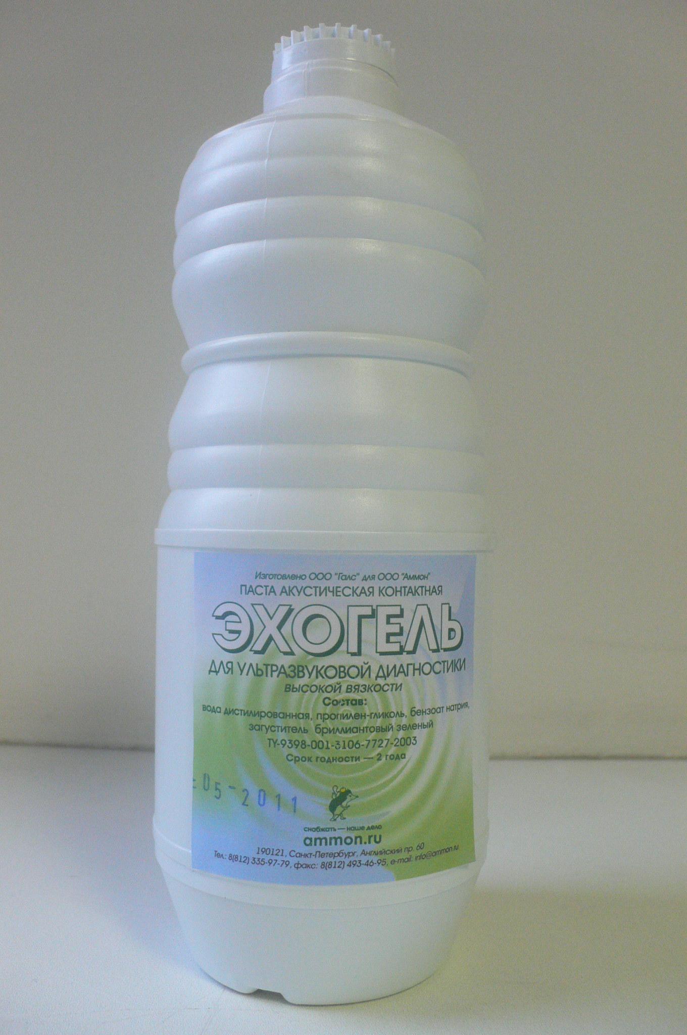 Эхогель, гель УЗИ высокой вязкости, 1 кг