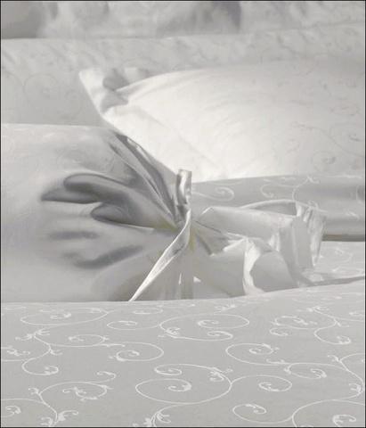 Постельное белье 1.5 спальное Janine Rubin белое
