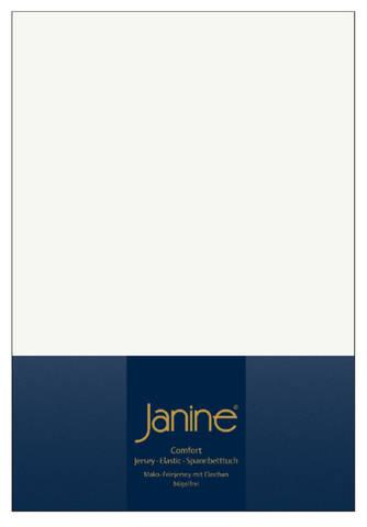 Элитная простыня на резинке Elastic-Jersey 5002 экрю от Janine