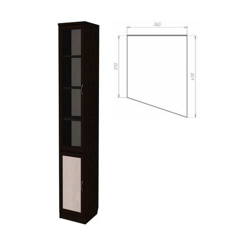 Шкаф для книг, консоль правая (Гарун-202)