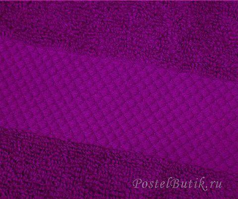 Полотенце 33х33 Mirabello Microcotton фиолетовое