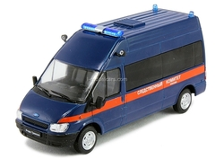 Ford Transit Investigative Committee Russia Police 1:43 DeAgostini Service Vehicle #45