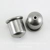 """Концевик для шнура 8 мм TierraCast """"Купол"""" (цвет-античное серебро) 12х11 мм ()"""