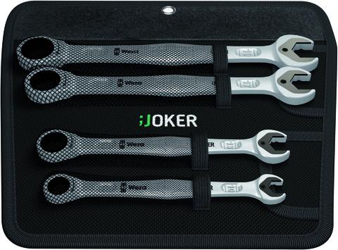 Набор гаечных ключей с кольцевой трещоткой Wera Joker