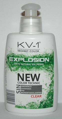 Tinte Explosion Brillo Natural- тонирующая маска для волос. Натуральное сияние