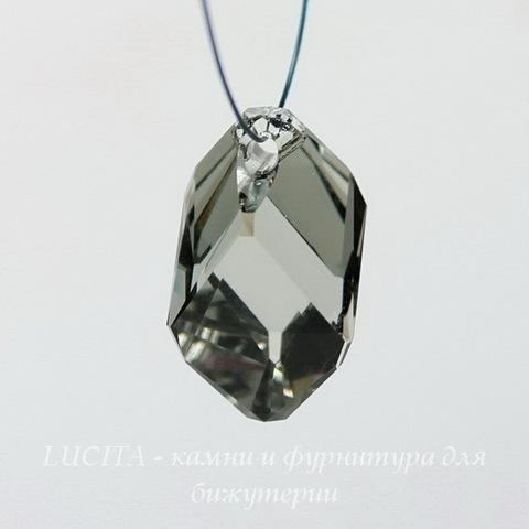 6650 Подвеска Сваровски Cubist Black Diamond (22 мм)