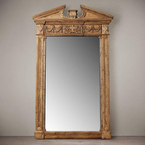 Зеркало напольное Герт Салваж от Restoration Hardware