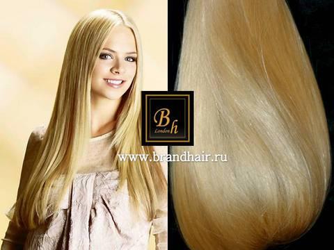 100% натуральный срез волос .(натуральный золотистый блонд)