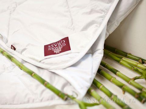 Элитное одеяло стеганое всесезонное 200х220 Bamboo от German Grass