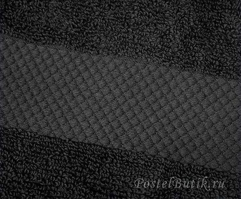 Полотенце 33х33 Mirabello Microcotton черное