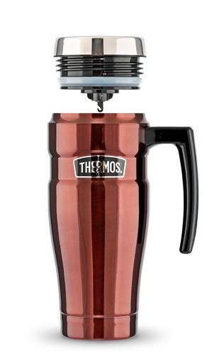 Термокружка SK 1000 Travel Mug (0,45 литра) коричневая