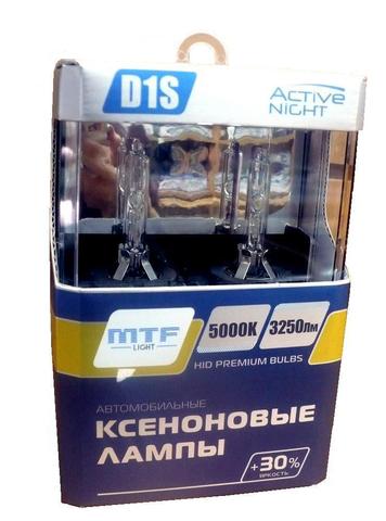 Ксеноновые лампы MTF Light D1S ACTIVE NIGHT +30%