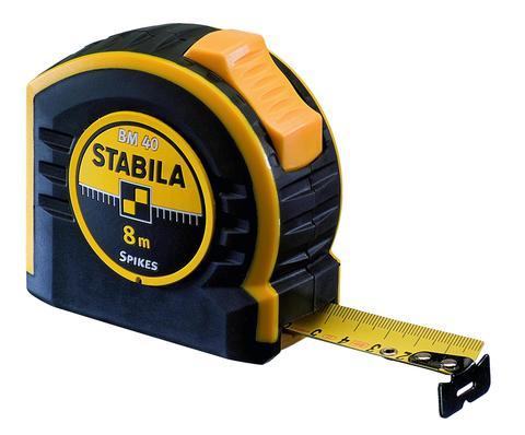 Карманная рулетка Stabila тип BM40 8 метров