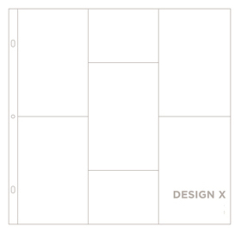 Фотофайлы Project Life-Дизайн X-штучно