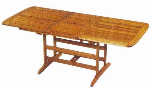 Стол САПФИР из массива красного дерева