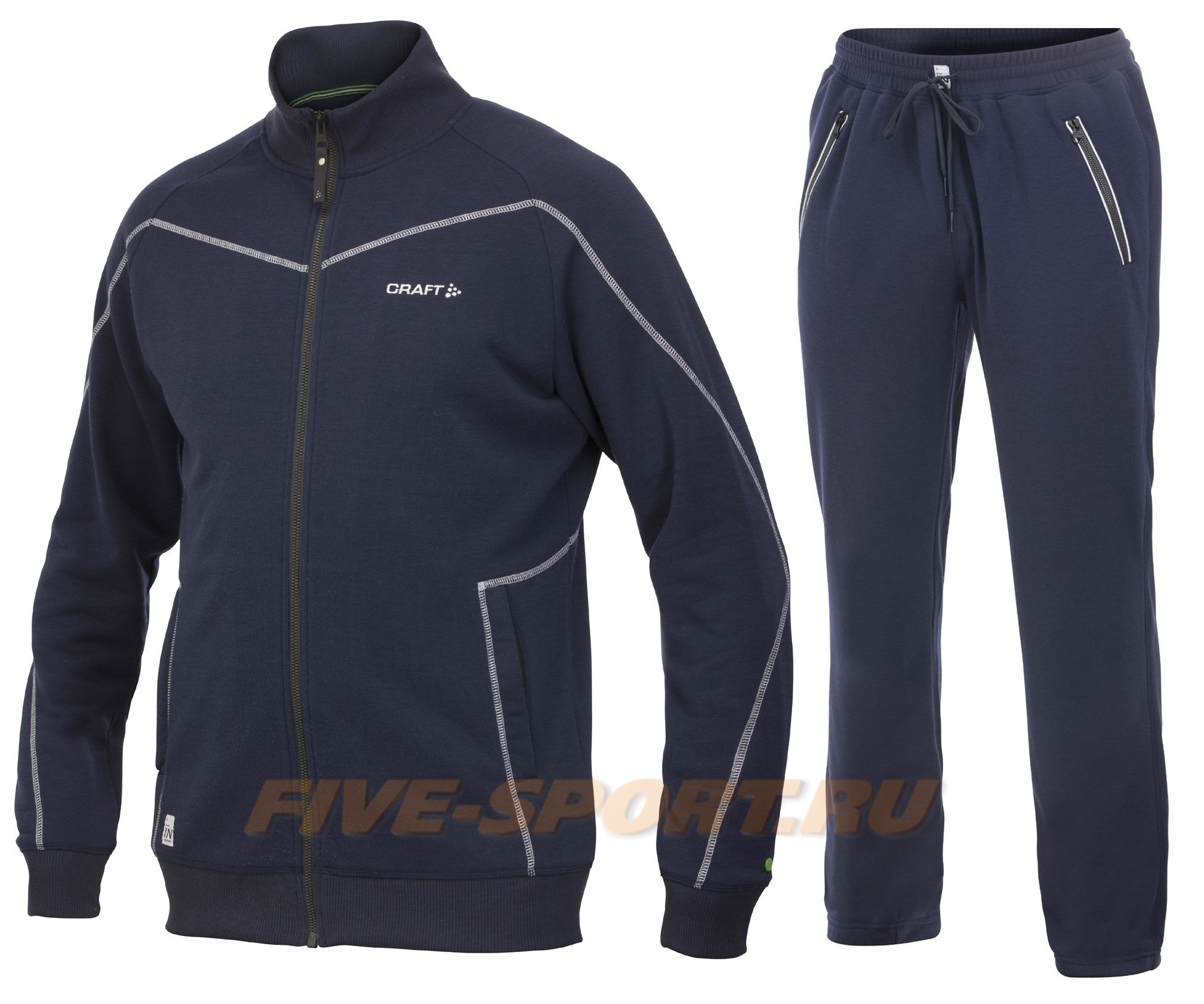 Мужской спортивный костюм для бега Craft In The Zone blue (1902636-2395-1902644-2395)