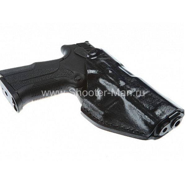 Кобура кожаная для пистолета Grand Power Т 10 и Т 12 поясная (модель № 17 ) Стич Профи