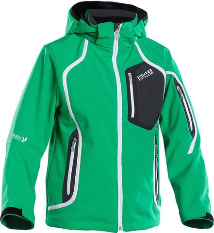 Куртка лыжная 8848 Altitude Salvation Green Softshell детская