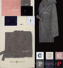 Набор полотенец 2 шт Cesare Paciotti Blade розовый