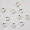 Винтажное колечко одинарное 5,7х1 мм (оксид серебра), 10 шт ()