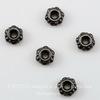 Бусина - спейсер TierraCast 4х2 мм (цвет-черный никель), 5 штук ()