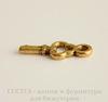"""Подвеска """"Ключик"""" 16х7 мм (цвет - античное золото), 5 шт"""