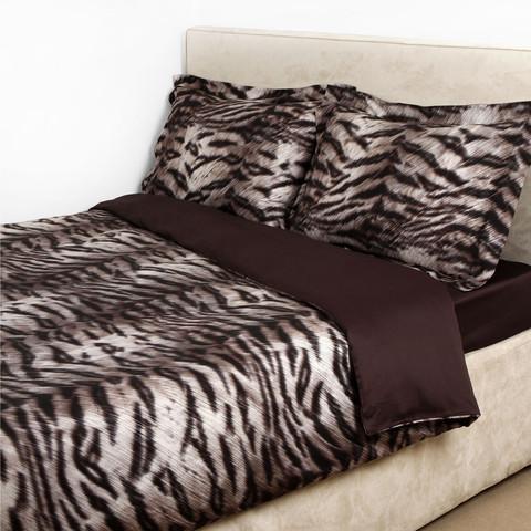 Постельное белье 2 спальное Roberto Cavalli Tigre