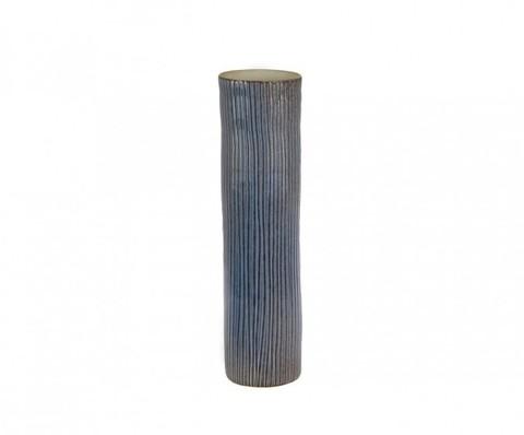 Элитная ваза декоративная Blue-and-White porcelain синяя малая от S. Bernardo