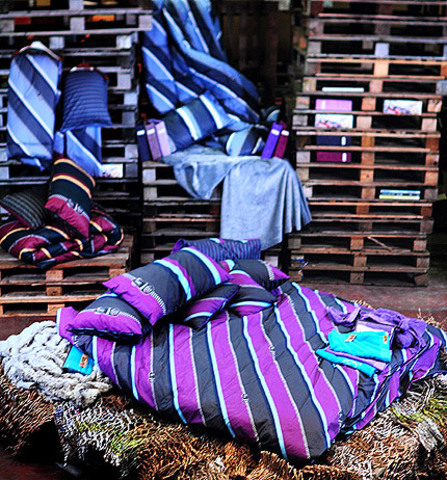 Постельное белье 1.5 спальное Besana Closed-Up